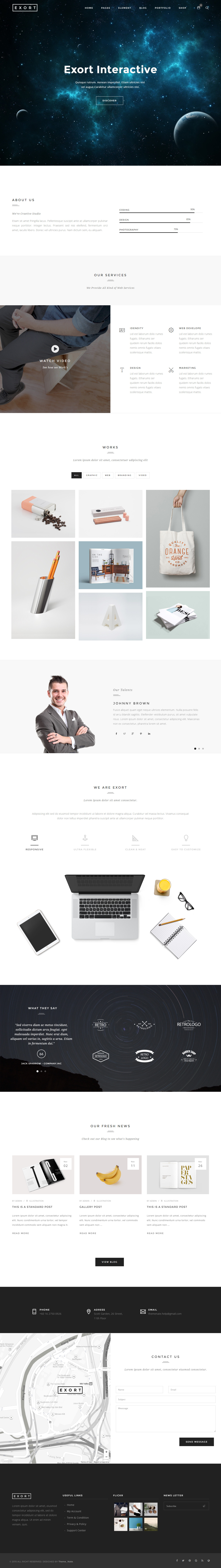 Html5 product template
